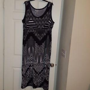 Avenue plus size maxi dress